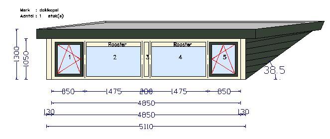 wbb dakkapellen - gratis inmeten - Het exact inmeten is van groot belang en wordt door onszelf uitgevoerd