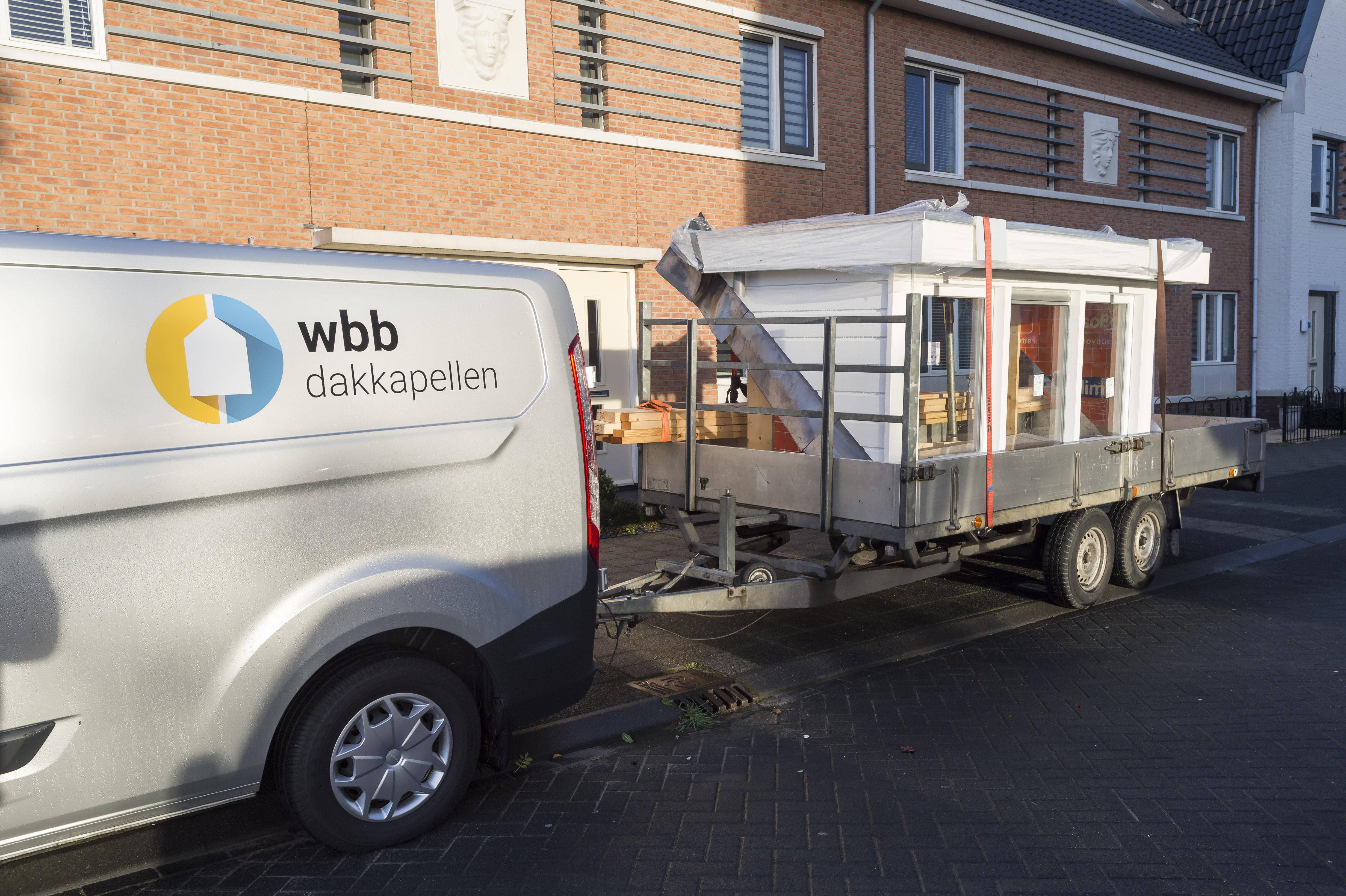 wbb-dakkapellen - plaatsing dakkapel - transport en aankomst dakkapel