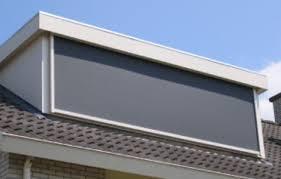 wbb-dakkapellen - accessoires: zonnescherm - sun screen