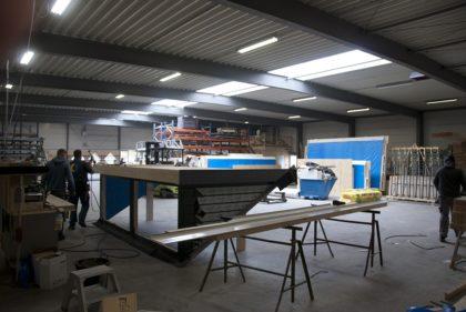 wbb dakkapellen - eigen productiehal - fabricage