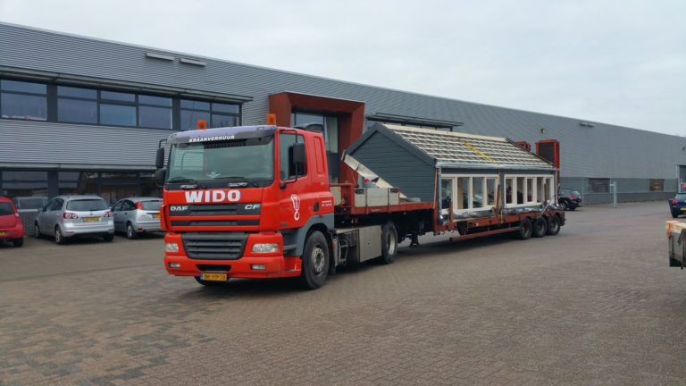 wbb dakkapellen - nokverhoging breed op transport