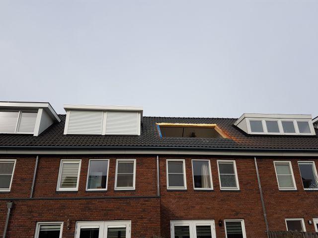 wbb-dakkapellen - dak klaar voor het plaatsen van de dakkapel